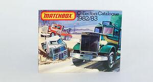 Matchbox 1982/83 Collectors Catalogue