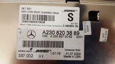 "MERCEDES Benz R230 ""SL500"" BOSE Amp A2308203889"