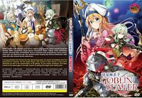 Goblin Slayer (Chapter 1 - 12 End) ~ 2-DVD SET ~ English Dub Version ~ Uncut Ver