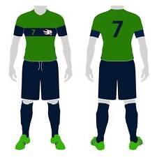 18 CUSTOM MADE SOCCER UNIFORM SETS (jersey-shorts-socks) –ADULT SZ - style 109
