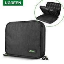 Ugreen Electronic Organizer Double Layer Travel Gadget Bag for HDD, Power Bank