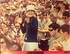 WINNING: Joanne Woodward Autographed 8x10 Set Photo. Includes COA and Bonus.