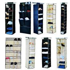 Polyester Hanging Storage Wardrobe Organisers