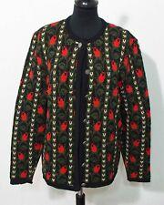 Trachten Jacke Größe M Damen Schurwolle C407