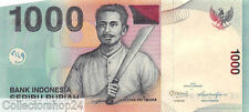Indonesia 1000 Rupiah 2012/2000 Unc Pn 147e
