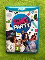 WiiU / Wii U - Sing Party