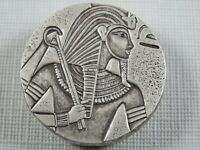 2016 5 oz .999 Silver Republic of Chad 3000 Francs King Tut Coin Scottsdale Mint