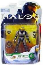 Halo 3 Series 4 Spartan Soldier Security Exclusive Action Figure [Steel]