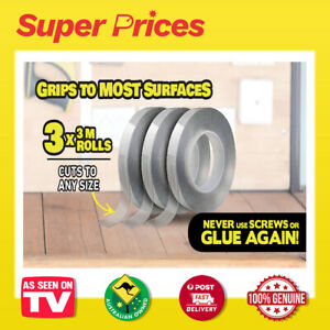 Alien Tape ◉ AS SEEN ON TV ◉ Non-Adhesive Tape ◉ Grips Instantly & Hold Tight ◉