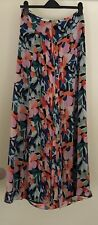 Feather Bone by Anthropologie Stunning Wide Leg Floral Print Palazzo Trousers