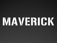 Maverick (Top Gun) Gracioso Parachoques/Ventana de STICKER Vinyl Decal