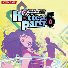 Hottest Party 5 Game for Wii Mat Bundle Dance Dance Revolution Nintendo