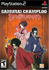 Samurai Champloo SideTracked PS2 New Playstation 2
