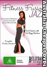 Fitness Fusion Jazz DVD NEW, FREE POSTAGE IN AUSTRALIA  REGION  4