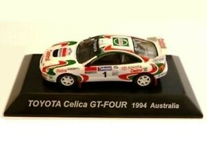 WOW EXTREMELY RARE Toyota Celica GT4 ST205 Kankkunen 1994 WRC 1:64 CM's Kyosho