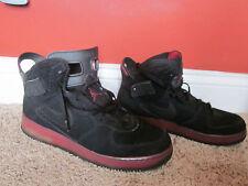 Nike Air Jordan Fusion 6 Black/Varsity Red AJF 6 Infrared 343064-062 Size 11.5