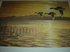 "Christopher Walden Over the Mud Flats - S/N Limited Edition Print - 16"" x 23"""