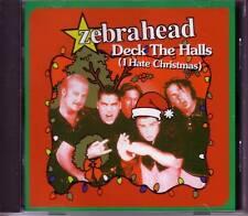 ZEBRAHEAD Deck the Halls UNRELEASE Christmas 2TRX DJ PROMO CD Single SEALED XMAS