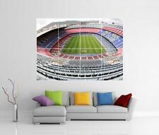 Barcelona Barca Nou Camp Gigante Pared Arte Foto impresión de Foto Afiche