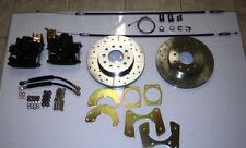 "Ford 9"" new large bearing rear disc brake conversion"