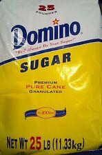 Domino Sugar - 25 Pound Bag - Pure Granulated Cane Sugar