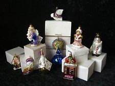 Kurt S. Adler Polonaise Selection of Ornaments - NEW - Original White Boxes