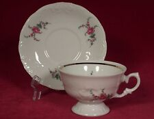 Royal Kent Collection Poland Coffee Cup and Saucer Set (s) Floral Pink Flowers