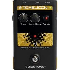 NEW TC HELICON VOICE TONE T1 ADAPTIVE TONE & DYNAMICS EFFECTS PEDAL 0$ US SHIP