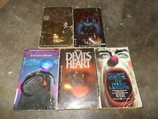 WILLIAM JOHNSTONE~COMPLETE~DEVIL'S~HORROR SERIES~FIVE PAPERBACK BOOK COLLECTION