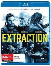Extraction NEW Blu-Ray Kellan Lutz Bruce Willis Gina Carano
