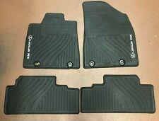 LEXUS RX350/450H 2013-2015 4 PCS BLACK ALL WEATHER MAT PT908-48130-20