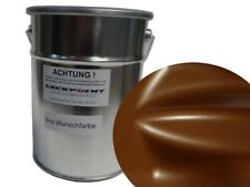 0,5 LITRO 1k Pintura Resina sintética Marrón Chocolate Metálico Mate moderno