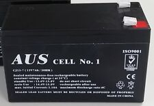 Aus Cell No.1 Sealed Lead Acid Rechargeable 12V7Ah Alarm Battery  CJ12-7