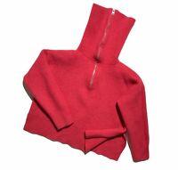 Women`s Allsaints Sweater Ami Roll Neck 1/4zip Pink Size L
