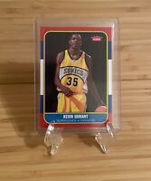 2007-08 FLEER KEVIN DURANT Rookie RC 1986-87 RETRO #86R-143