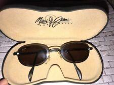 RARE Vintage Maui Jim MJ 552-02 Occhiali da sole 90s Vintage Ovale Maui Jim Occhiali Da Sole