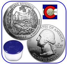2017 Ozark Riverways (MO) 5 oz Silver America the Beautiful ATB - Roll 10 Coins
