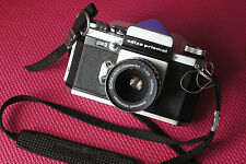 Edixa Prismat Camera with Steinheil Munchen Ediax-Auto-Cassaron 50mm f2.8 M42