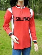 VELO CYCLES SALLANCHES 1959 TOUR de ROMANDIE CYCLING JERSEY M RED TEAM SWEATER