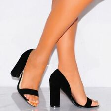 Unbranded Suede Party Peep Toe Heels for Women