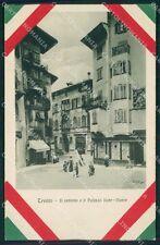 Trento Città Palazzo Rohr Monte cartolina QT4129