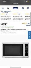 KitchenAid 2.2-cu ft 1200-Watt Countertop Microwave Model #KMCS3022GSS