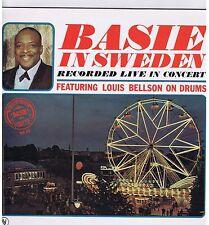 LP BASIE IN SWEDEN FEATURING LOUIS BELLSON ON DRUMS(REISSUE)