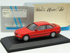 Minichamps 1/43 - BMW Serie 3 E36 Coupe  Rouge