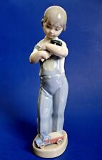 "Cute! Lladró Daisa Porcelain Figurine *Mechanic Boy* - 8 3/8"" H - Made in Spain"