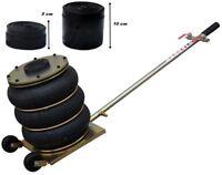 cric pneumatique 4,5 tonnes RK2-P2 +ADAPTATEUR 5cm, 10cm pour PKW et LKW