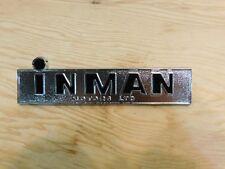 Vintage 1950's-60's Inman Motors LTD. Car Badge NOS Winnipeg Canada GM Dealer