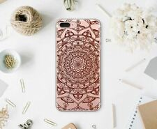 Mandala Rubber Case iPhone XR iPhone 7 8 Plus Soft Cover XS Max XS iPod Touch 6