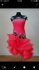 Latin Competition Performance Dress Size XS