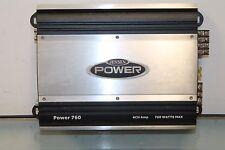 Jensen Power760 Amp 760 Watts Peak Power 4 Channel Power 760